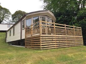 Willerby Aspen 2012 model- Stunning, two bedrooms, en-suite to master; gas central heating