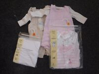 Baby girl clothes tiny baby size (some new)