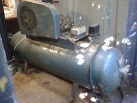 210 litre Compressor. Clarke. 3 Phase