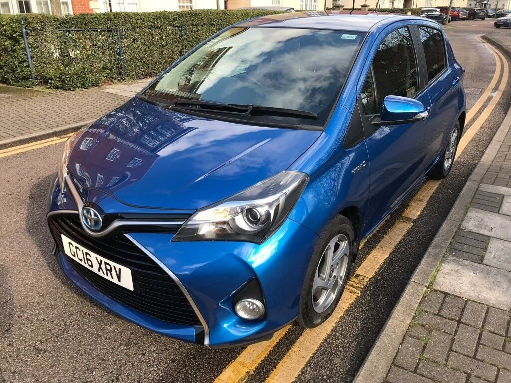 Toyota Yaris Hybrid 2016 Automatic 2key Full History Auto 0tax