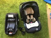Baby jogger travel system