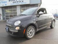 2013 FIAT 500C Convertible Lounge, Leather, Sunroof, Bluetooth