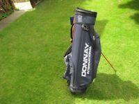 Winter golf club lightweight carrying bag