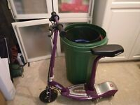Razor electric scooter, Well used but still in reasonable condition and working
