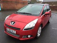 2010 Peugeot 5008 1.6 Hdi Mpv 7 Seater 1 Owner Full Service History Perfect Condition Ready To Go PX