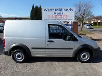 62 PLATE (2012) FORD TRANSIT CONNECT T200 1.8 DIESEL