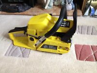 Titan petrol chainsaw. Brand new in box. Never used.