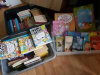 HUGE JOB LOT OF 115 CHILDREN'S FICTION BOOKS