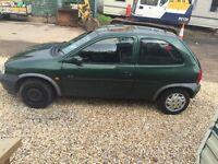 Vauxhall corsa 1.2 T reg