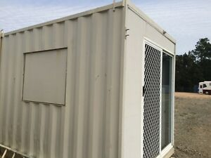 CHEAP 10FT SHIPPING CONTAINER OFFICE - GYMPIE QLD Gympie Gympie Area Preview