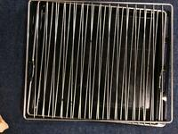Cooker shelf and grill tray