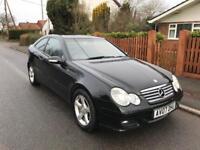 2007(07) Mercedes C220CDi SE Coupe Auto - Diesel - Long MOT