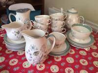 Midwinter vintage teaset