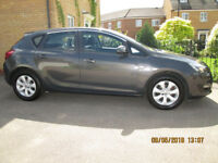 Vauxhall Astra 1.4 (16v) Design 5 door ultra low miles