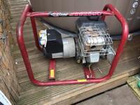 110/240v site generator Briggs & Stratton