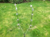Drums - Premier 3000 Straight Cymbal Stand - 2 available