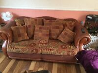 3piece suit Laura Ashley 2 chairs and 3 seater sofa