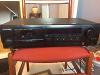 KENWOOD STEREO CASSETTE DECK FOR REPAIR OR SPARES