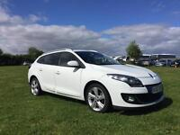 Renault Megane sports tourer estate. GTline Spec