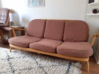 Vintage Ercol 3 seater sofa (203/3)