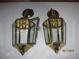 Indoor Brass Lanterns