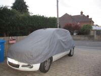 Car covers for small saloon car