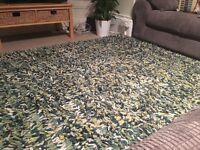 100% wool Next rug