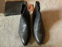 e0f63539d Billy joe BRASS EASTWOOD MENS BLACK WESTERN COWBOY BOOTS ,UK SIZE 8 used £25