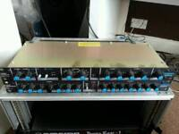 Dj studio equipment signal processors