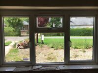 Various upvc double glazed windows and doors. Job lot or individual items