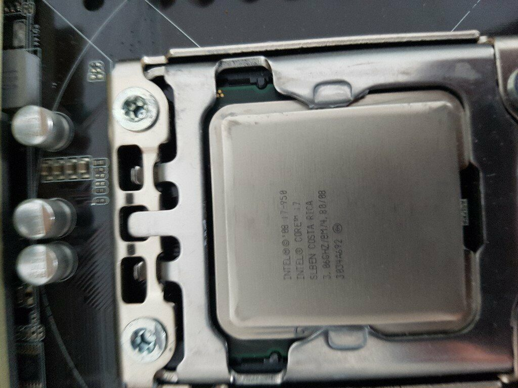 Asus SABERTOOTH X58 Motherboard , I7-950 CPU+New CPU Fan + 2 x 4gb Corsiar  DDR3 RAM - Fully working | in Frodsham, Cheshire | Gumtree