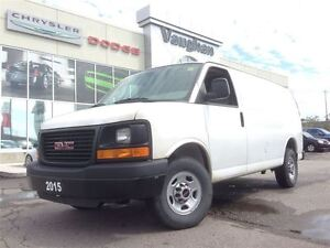 2015 GMC Savana 3/4 TON - POWER WINDOWS- POWER LOCKS - ONLY 5582
