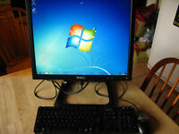 Dell 760 mini PC with monitor ideal for small space or bedroom