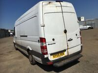Mercedes Benz sprinter van breaking turbo fuel pump power steering pump steering rack