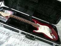 FENDER STRATOCASTER HIGHWAY ONE 1 LEFT HANDED RARE electric guitar