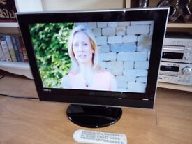 19 inch television flat screen @ HDMI @ TV suitable for Bedroom /Kitchen / Garage