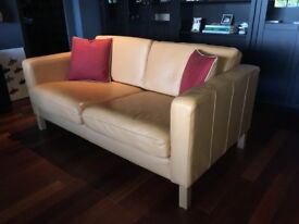 Lovely 2 seater Leather sofa as new condition