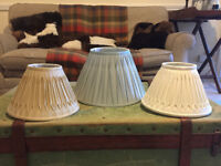 Laura Ashley lamp / light shade x3
