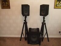 S/R Technology Pocket 700 Amplifier/Speakers.