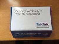TalkTalk Wireless Router D-Link ADSL 2+ N150 DSL-3680/TT Modem