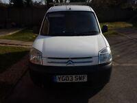 Berlingo 1.9D SWAP for bigger van
