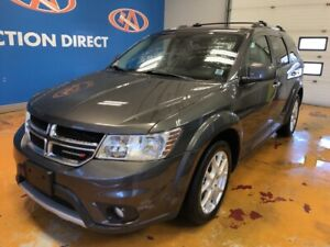 2016 Dodge Journey R/T 7 PASS R/T/ AWD/ HEATED LEATHER/ SUNRO...