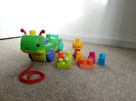 Mega Bloks Move & Groove Caterpillar