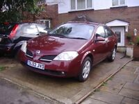 clean nissan with mot