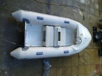 Avon Sea sport RIB Tender and trailer