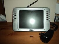 Portable small freeview Television for sale