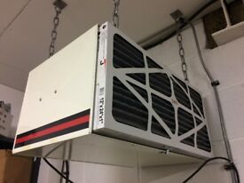 JET AFS500 AIR FILTRATION SYSTEM WITH CEILING HOOKS AND CHAINS FOR SUSPENSION