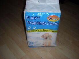 Pack of 30 puppy training pads
