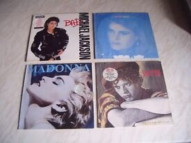 Used vinyl records