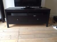 IKEA HEMNES TV set - BROWN - BLACK two chest of drawers